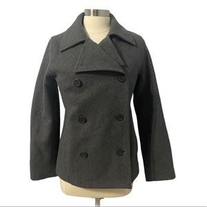 American Eagle Peacoat Double Breasted Size S